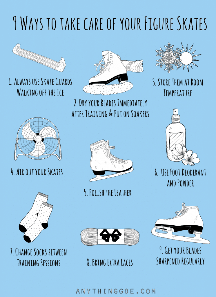 9 Ways to take care of your skates